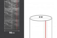 Καψύλιο θερμοσυρρικνούμενο πλάτος 98 mm με εγκοπή - σε τρεχούμενο μέτρο (Φ 60)