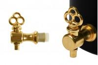 Μεταλλικό βρυσάκι σε χρυσό χρώμα (μισής στροφής)