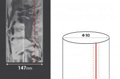 Καψύλιο θερμοσυρρικνούμενο πλάτος 147 mm με εγκοπή - σε τρεχούμενο μέτρο (Φ 93)