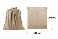 Pochette en tissu 340x390 mm - 20 pièces