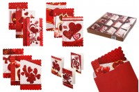 Love Greeting Cards - 120 pcs (different designs)