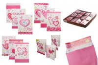 Heart Drawing Greeting Cards - 120 pcs (different designs)