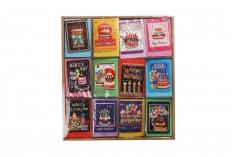 Ευχετήριες κάρτες γενεθλίων - 120 τμχ (διάφορα σχέδια)