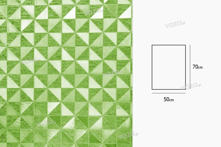 Σελοφάν περιτυλίγματος μεταλιζέ 50x70 cm - ποικιλία χρωμάτων - 20 τμχ