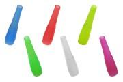 Επιστόμια (πιπάκια) για ναργιλέ σε ατομική συσκευασία - 100 τμχ (mix color)