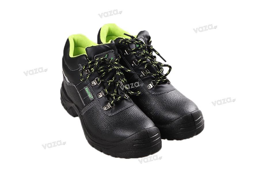 Παπούτσια ασφαλείας - εργασίας με μεταλλικό προστατευτικό δακτύλων, αντιολισθητική σόλα και προστασία από διάτρηση - Επιλέξτε το νούμερο σας
