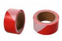 Ταινία σήμανσης πλαστική με πλάτος 50 mm - Ένα τεμάχιο (ρολό) 100 μέτρων