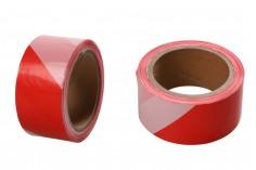 Ruban de marquage en plastique d'une largeur de 50 mm - Une pièce (rouleau) de 100 mètres