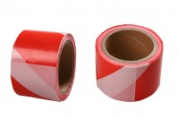 Ταινία σήμανσης πλαστική με πλάτος 70 mm - Ένα τεμάχιο (ρολό) 100 μέτρων