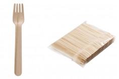 Πιρουνάκια ξύλινα 138 mm - 100 τμχ