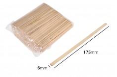 Ξυλάκια γενικής χρήσης 175x6x1,3 mm - πακέτο 1000 τμχ