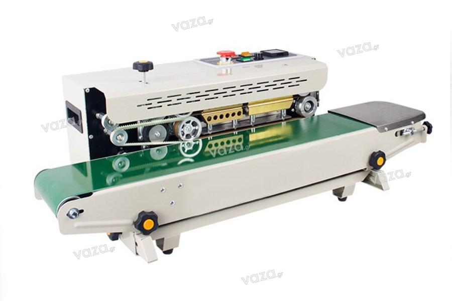 Αυτόματη μηχανή θερμοκόλλησης και σφράγισης για σακούλες και Doy Pack
