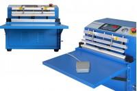 Επιτραπέζια μηχανή συσκευασίας κενού αέρος (vacuum) με δυνατότητα προσθήκης αέρα και θερμοκόλλησης