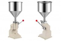 Χειροκίνητη μηχανή γεμίσματος για κρέμες και παχύρευστα υγρά (50 ml)