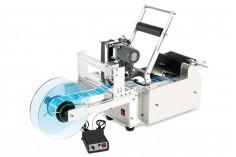 Ημιαυτόματη μηχανή επικόλλησης ετικετών για κυλινδρικά δοχεία με δυνατότητα εκτύπωσης ημερομηνίας