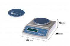 Ηλεκτρονική ζυγαριά ακριβείας (0.01gr - 2 kg)