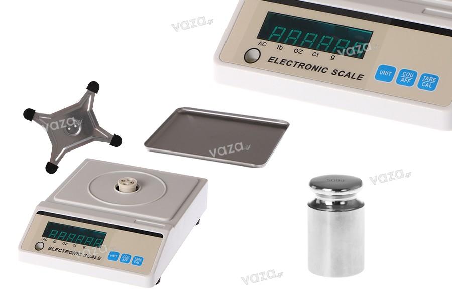 Ηλεκτρονική ζυγαριά ακριβείας (0.01gr - 3 kg)