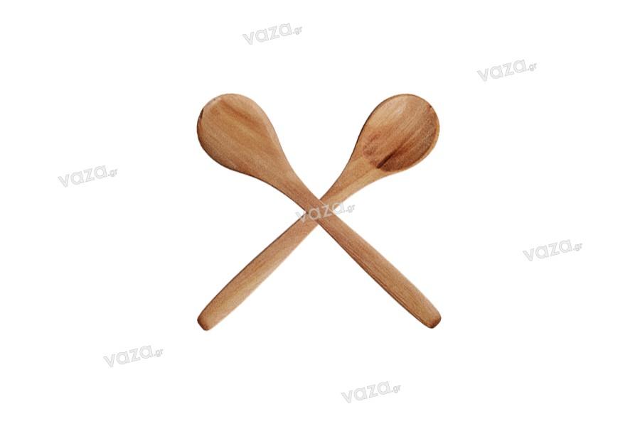 Κουταλάκια bamboo 131 mm - Συσκευασία 25 τεμαχίων