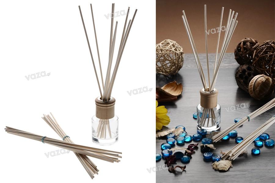 Bamboo sticks απορροφητικά κι εύκαμπτα για αρωματικά χώρου 3x250 mm - 10 τμχ