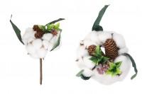 Διακοσμητικό μπουκέτο με άνθος βαμβακιού