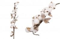 Διακοσμητικό κλαδί - άνθος βαμβακιού