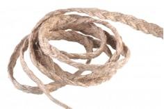 Σπάγκος (λινάρι) σε σχήμα πλεξούδας με πλάτος 1 cm - 'Ενα τεμάχιο 10 μέτρων