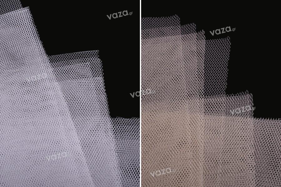 Μαντήλι από τούλι για γέμισμα μπομπονιέρας γάμου - μέτριας σκληρότητας 50x45 cm σε διάφορα χρώματα - 100 τμχ