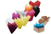 Papier tactile de différentes couleurs 50x75 cm - 50 pcs