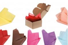 Χαρτί αφής 50x66 cm σε διάφορα χρώματα - 50 τμχ