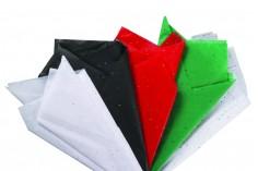 Papier tactile de différentes couleurs 50x66 cm - 10 pcs