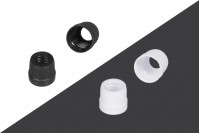 Δαχτυλίδι ασφαλείας πλαστικό στενό για σταγονόμετρα 5 έως 100 ml
