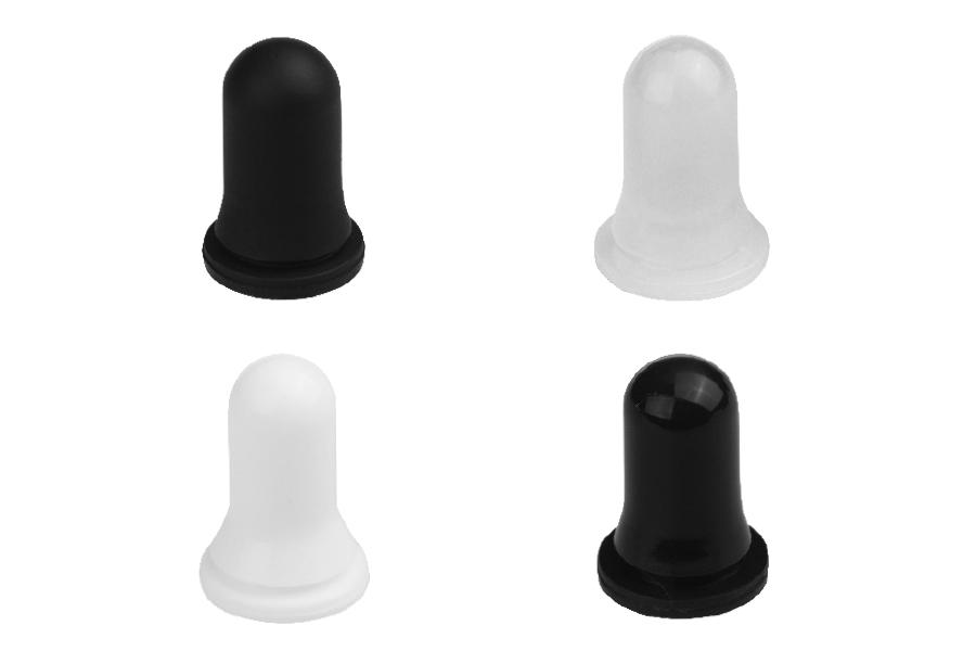 Πιπίλες για σταγονόμετρα 5 έως 100 ml σε διάφορα χρώματα