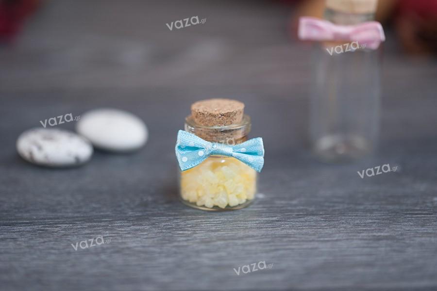 Φιογκάκια πουά για τον στολισμό βάζων και μπουκαλιών σε διάφορα χρώματα