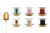 Σετ - σπρέι σε χρώμα χρυσό με καπάκι ακρυλικό (PP15) σε διάφορα χρώματα