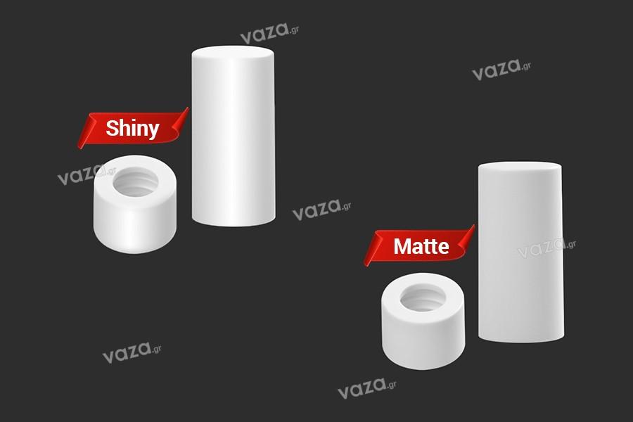 ΣΕΤ δαχτυλίδι με καπάκι πλαστικό για σταγονόμετρα 5 έως 100 ml