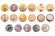 Καπάκια Τ.Ο. 82 χωρίς φλιπ σε ποικιλία χρωμάτων - σχεδίων