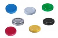 Καπάκια Τ.Ο. 43 χωρίς φλιπ σε ποικιλία χρωμάτων