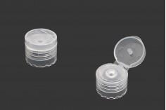 Καπάκι flip top πλαστικό 20/410 - 12 τμχ