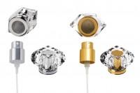 Σετ - σπρέι και καπάκι ακρυλικό (PP 15) σε χρώματα χρυσό ή ασημί