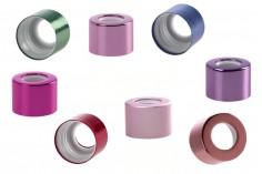 Δαχτυλίδι αλουμινίου για σταγονόμετρα 5 έως 100 ml σε διάφορα χρώματα