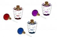 Κρυστάλλινο μπουκαλάκι με καπάκι κρυστάλλινο και βελόνα 6 ml σε 3 χρώματα