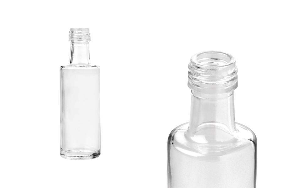 Μπουκάλι 40 ml Dorica διάφανο (PP 18)
