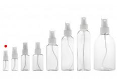PET Μπουκάλι 10 ml με σπρέι για ελαφρά λιπαρές ουσίες σε συσκευασία των 12 τεμαχίων