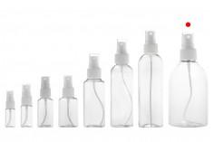 PET Μπουκάλι 250 ml με σπρέι για ελαφρά λιπαρές ουσίες σε συσκευασία των 12 τεμαχίων