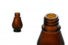 Μπουκαλάκι για αιθέρια έλαια 10 ml γυάλινο καραμελέ (PP18)