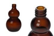Μπουκαλάκι αιθέριων ελαίων 100 ml γυάλινο καραμελέ (PP18)