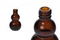 Μπουκαλάκι αιθέριων ελαίων 30 ml γυάλινο καραμελέ (PP18)