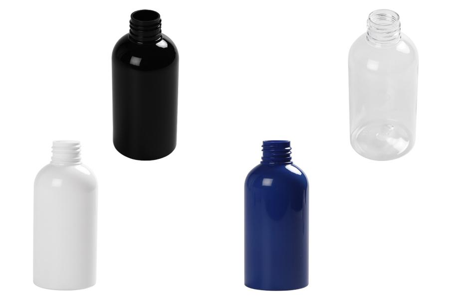 Bouteille de 150 ml de plastique de différentes couleurs (PP 24)