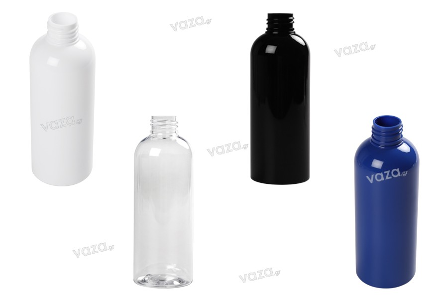 Μπουκάλι PET 200 ml σε διάφορα χρώματα (PP 24)