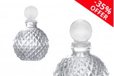 OFFRE! SET Bouteille 105 ml avec bouchon en verre – de 2.20€ à 1.43€ par pièce